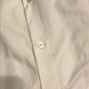 Banana Republic Shirts - Banana Republic slim fit white shirt L 16 16.5